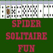 Fun Spider Solitaire Card