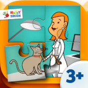 A Funny Job Puzzle - Set 4 - Kids Apps for toddlers and preschoolers - by Happy Touch Kids Games®
