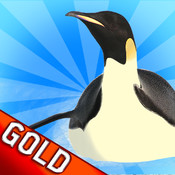 Penguin Glide Racing : The North Pole Cold Winter Race - Free Edition