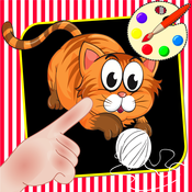 Catch and Paint Animals Game