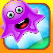A Purple Hot Jelly Blob Jumper Pie Collapse Factory - Easy Unblocked Miniclip Games Edition FREE miniclip