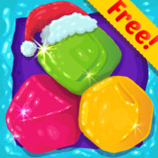 Candy Diamond Games Christmas - Cool Candies and Jewels Swapping Match 3 Puzzle Game For Kids HD FREE memory swapping