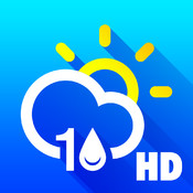 10 Day Weather free: Detailed 24 hour forecast with animated live background