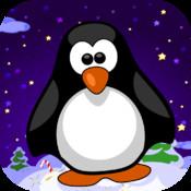 Artic Penguin Ice Hoping Adventure