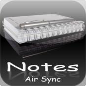 Notes Air Sync notes