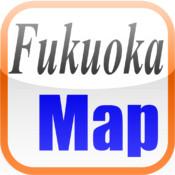 福岡地図(Fukuoka)