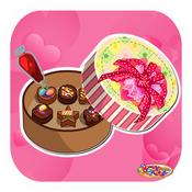 Chocolate For My Valentine- Chocolate Maker Crazy Chef& Valentine love(Cooking Game) valentine