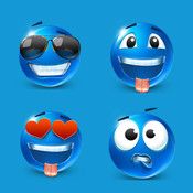 Lovely emoji - Gif Animation cartoon Stickers & emoji art emoji