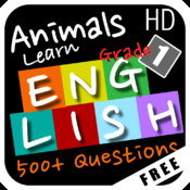 Animals Learn English - First Grade