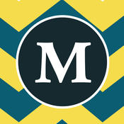 Monogram HD Wallpapers - Free Download For iOS 8, iOS 7, iPhone, iPod and iPad