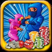 Ninja Slots XP - Clumsy Fight in Vegas Casino Shadow HD Free xp cleaner free