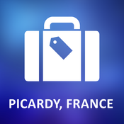 Picardy, France Offline Vector Map