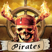 Pirates Matching Link Bridges to match Cat, Skull, Bird, Pirates, Panda pirate within fun time