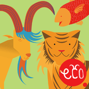 Storybook for Kids: Tiger, Goat and Fish - Interactive Animal Stories