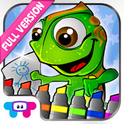 Kids Coloring Book Full Version - draw, color and paint studio pro