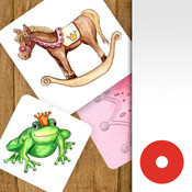 Princess Match - Little Princess Pairs Matching Game. princess