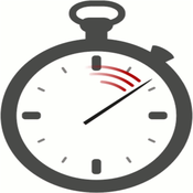 Gray Stop Watch