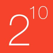 1024 - Free Maths Games Series - Binary Numbers for iPad iPhone and iPad sim ipad