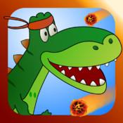 Flippin` Dino: The Race for Life - Run Dino Run 2