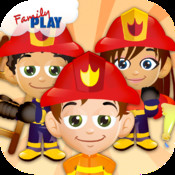 Tiny Fire Fighters Jigsaw Puzzles Kids Fireman HD Free: Firemen and Firetruck Cartoon Puzzles kids online puzzles