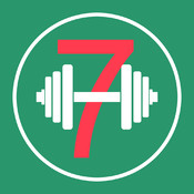 7 Minutes Workout - Exercise Daily without going to Gym, Personal Trainer and Health & Fitness App (Includes Ab workouts, Arm workouts, Upper body exercises, Lower body exercises & more)