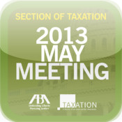 ABA Taxation May 2013 Meeting