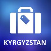 Kyrgyzstan Offline Vector Map