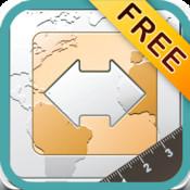 Finger Measure Free - Map Area & Distance Measurement
