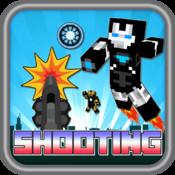 "Iron Blocks 3D Hero Shooting and Hunt Pro - "" man & boy block edition """