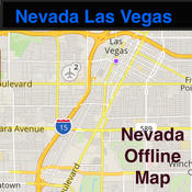 Nevada/Las Vegas Offline Map & Navigation & POI & Travel Guide & Wikipedia with Traffic Cameras - Great Road Trip