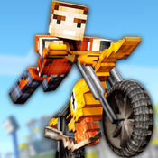 Dirt Bike Exploration Racing - Free Craft Race Game of Blocky Motorcycles