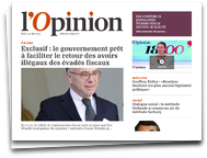 L`Opinion : l`actualité Politique, Economie et International - Version iPad