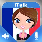 iTalk Francese! conversazionale: registrare e riprodurre, imparare a parlare veloce, espressioni e prove di vocabolario per i parlanti di lingua italiana