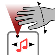 Hands-free Music: gesture controlled player