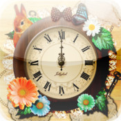 Natural Girly Clock