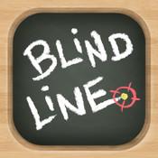 Blind Line - Blackboard Chalk Puzzle Game
