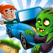 A Zombie Road Climb: Temple Car Racing Pro