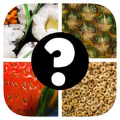 Close Up Food Quiz Game