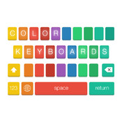 Color Keyboards for iOS 8!
