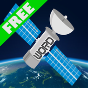 Intergalactic Word Search Free : Kids Word Find Puzzle Game With Space, Astronomy, Physics, & Engineering Theme