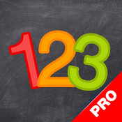 123 Genius PRO - First Numbers and Counting Games for Kids genius game