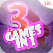 Awesome Fun Free Mini Games - Cool 3-in-1 Run HD (for boys and girls)