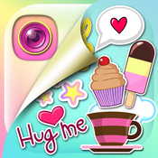Cute Stickers Photo Editing - Girly Decoration and Pretty Stamps for your Pictures download