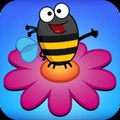 A Tiny Bee Farm Adventure - Lead the bee and collect flowers - Free Endless Flyer game