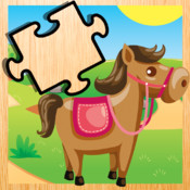 A Magic Horse-s Puzzle in the Fairy-Tale World! Free Kid-s Learn-ing Game-s with Fun fairy free magic