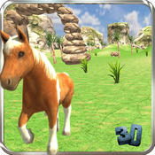 My Cute Pony Horse Simulator Ride : Experience Pony Horse Simulation in Ultimate 3D Mountains