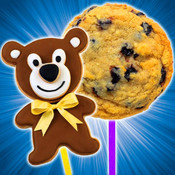 A Cookie Pops Maker Bake and Decorate Summer Treats Game! HD