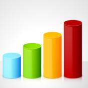 3D Cylinder Charts cylinder and slide