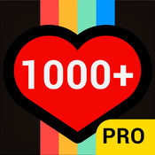 1000 Likes Pro - Get more likes for instagram apps and boost ig followers