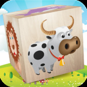 Animals 3D Puzzle Blocks 4 Preschool Kids & Children HD - early development of matching, tactile, fine motor and cognitive skills